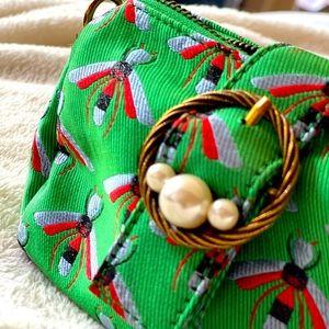 Fun crossbody bag with pearl detail